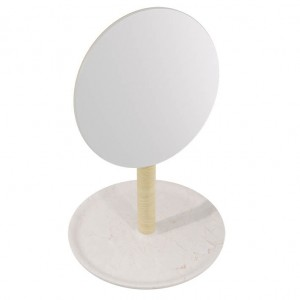 L'Antic Balda Hand Mirror Italia Natural Bpt 22 cm