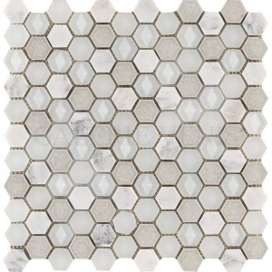 Aura Hexagon Whites - Lantic Colonial